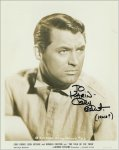 Cary Grant Vintage Autographed 8x10 photo