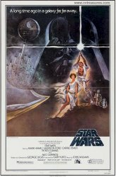Star Wars Original Vintage Movie Poster One Sheet 3rd Printing