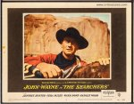Searchers Vintage Lobby Card Movie Poster John Wayne Rare