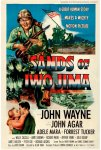 Sands of Iwo Jima John Wayne Vintage One Sheet Movie Poster