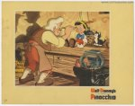 Pinocchio Disney Original Vintage Lobby Card Movie Poster 1940