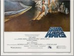 Star Wars FIRST PRINTING Movie Poster 1977 Vintage Sci-Fi