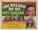 Wizard of OZ Vintage Movie Poster Title Lobby Card, RARE 1955