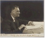Historical Treasures - like this Autographed Photo of FDR!