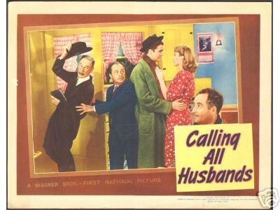 Calling All Husbands George Reeves Title and lobby cards, 1940 - Click Image to Close