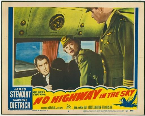 No Highway in the Sky, James Stewart, 1951, Original Lobby Cards - Click Image to Close