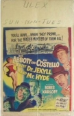 Abbott & Costello Meet Dr Jekyl & Mr Hyde - WC - 1951