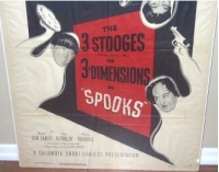 Three Stooges Spooks one sheet 1953
